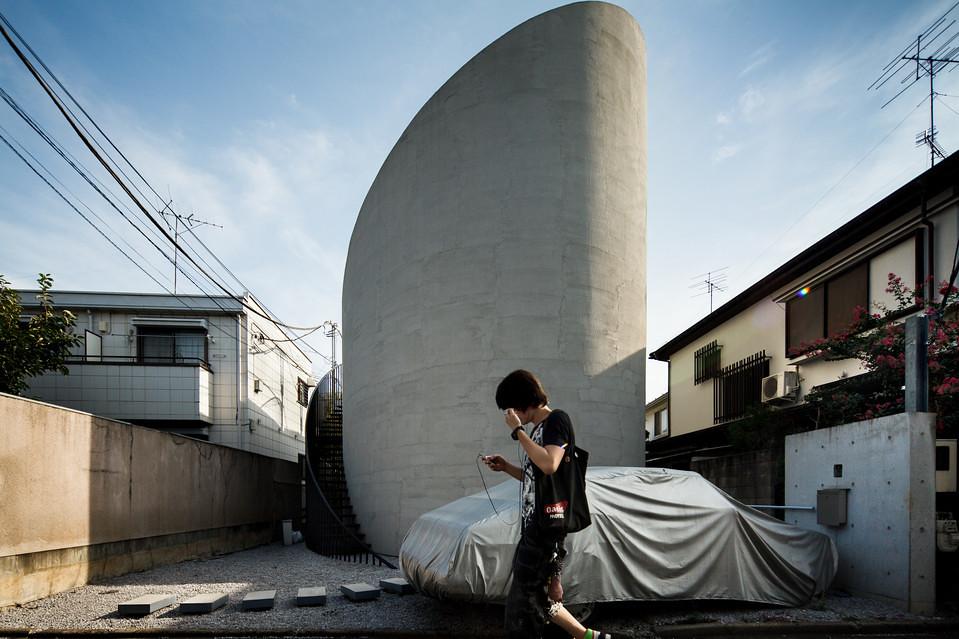 住宅密度大於高度,東京建築「怪宅」林立6