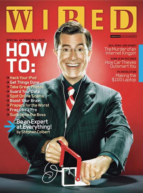 Wired Celebrity Cover