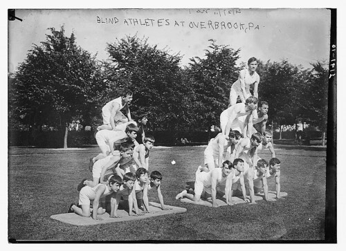 Blind athletes at Overbrook, Pa.  (LOC)
