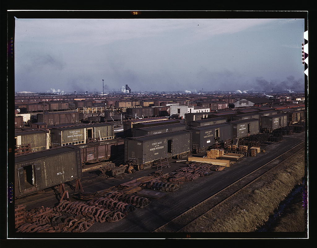Philosophy friday railroad industry historic films for Northwestern industries