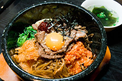 noodle(0.0), curry(0.0), bulgogi(0.0), meal(1.0), meat(1.0), bibimbap(1.0), food(1.0), dish(1.0), cuisine(1.0),