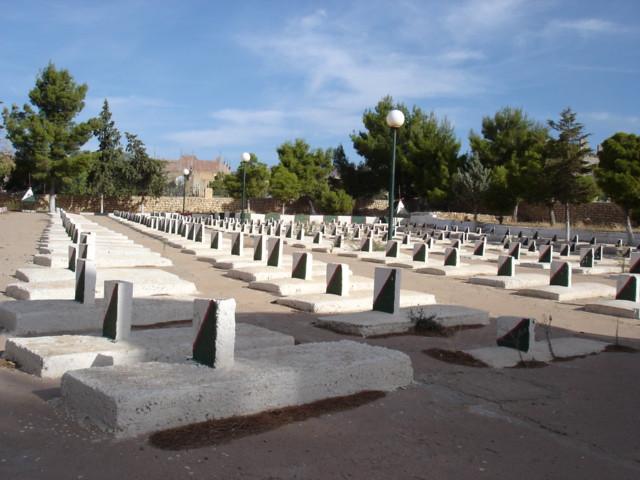 Martyr cemetery (makbarat achouhada), Ah Frah مقبرة الشهداء ببني فرح