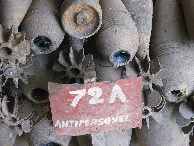 Header of antipersonnel