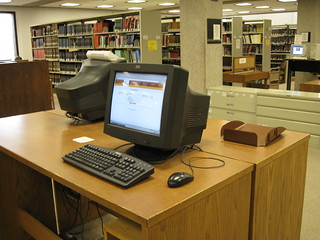 Library Catalog (infoLINK) computers