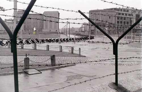 Berlin Wall at Potsdamer Platz, Berlin, 28 August 1962