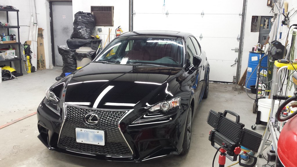 toronto auto car detailing get detailed 2014 lexus isfsport. Black Bedroom Furniture Sets. Home Design Ideas