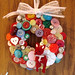 button wreath!