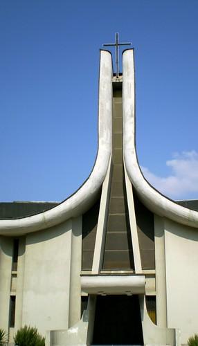 church architecture europe catholic macedonia balkans skopje makedonia скопје osm:node=170680108 osm:way=38765140