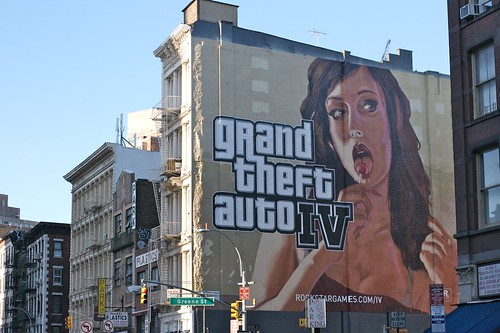 Grand Theft Auto IV ad