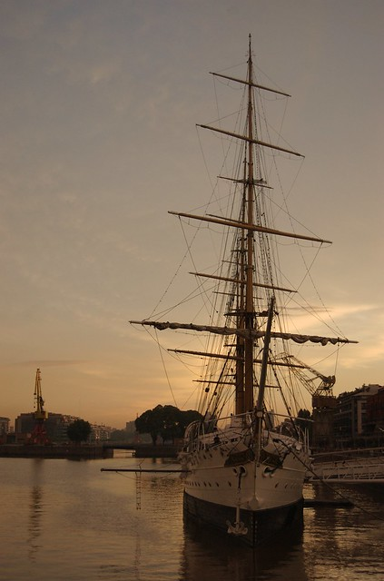 Sarmiento ship in Puerto Madero (Photo: Beatrice Murch)