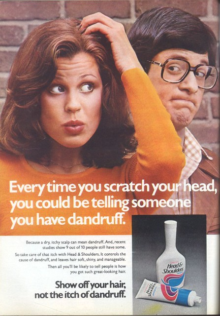 1970's Head & Shoulders Shampoo