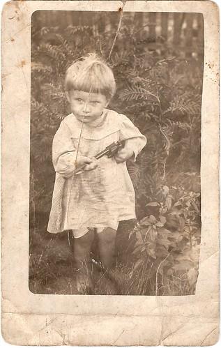 Scott Moser; about 1915.