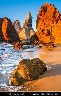 Portugal - Sunset at Ursa Beach