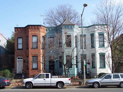 rowhouses, 300 block of 8th Street SE