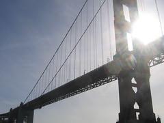 Returning through the Golden Gate