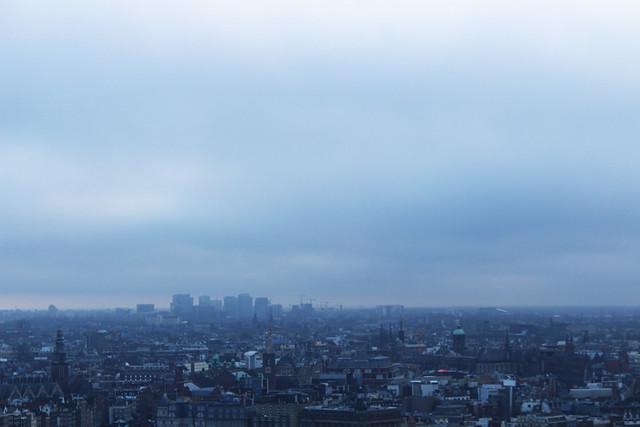 toits d'Amsterdam