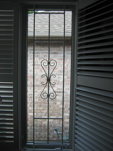 window security bars decorative