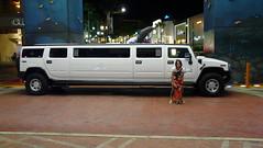 hummer h1(0.0), automobile(1.0), sport utility vehicle(1.0), vehicle(1.0), hummer h2(1.0), land vehicle(1.0), luxury vehicle(1.0), limousine(1.0), motor vehicle(1.0),