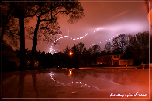 Lightning Storm May 2007 by jimmygiambrone