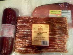 vienna sausage(0.0), sausage(1.0), sujuk(1.0), mettwurst(1.0), salt-cured meat(1.0), longaniza(1.0), food(1.0), dish(1.0), cuisine(1.0), kielbasa(1.0), bratwurst(1.0), animal fat(1.0),