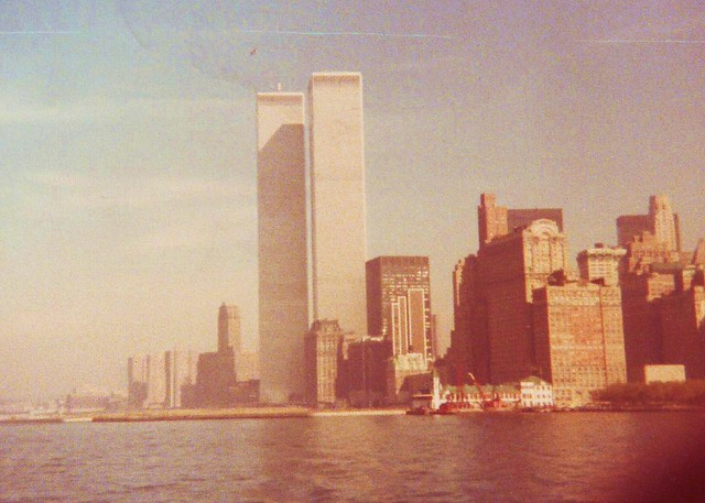 World Trade Center in the 1970s