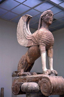 Winged Sphinx, Delphi Museum  1998