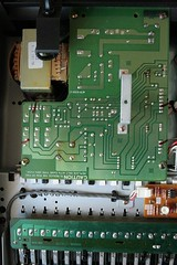 Inside the Yamaha SY77: Close-Up Left-To-Right: 1 (Power Supply)