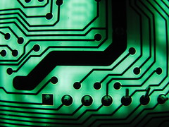 green circuit board III