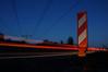 Analoges Schild an der Autobahn by azimut400gon