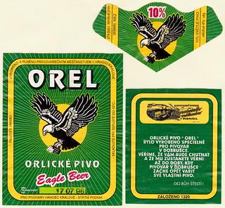 Orel 10°, Hradec Králové, 1996