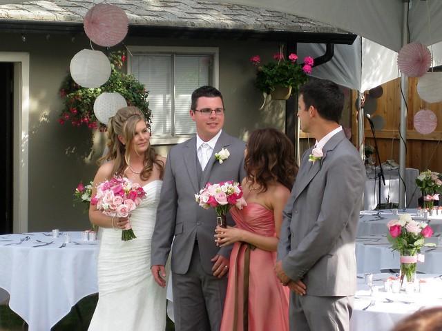 Brunette Bride Wedding Cake Toppers
