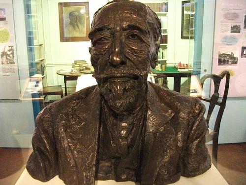 1924 bronze bust of Joseph Conrad by Sir Jacob Epstein