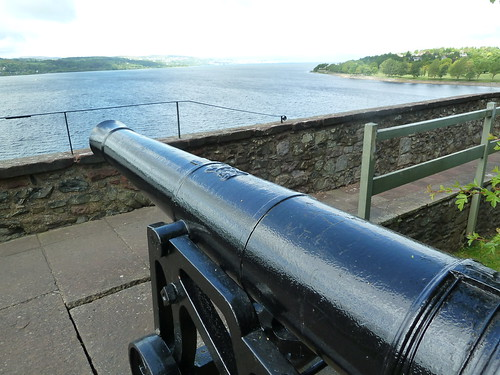 Firth of Clyde from Dumbarton Castle, Scotland