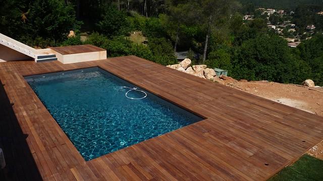 terrasse bois exotique piscine cumaru la destrousse 13. Black Bedroom Furniture Sets. Home Design Ideas