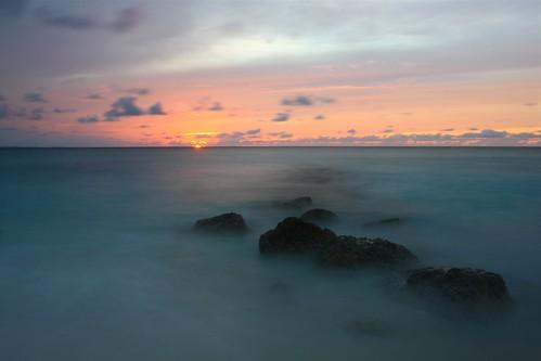 sunset beach rocks nd turks caicos bojorchess