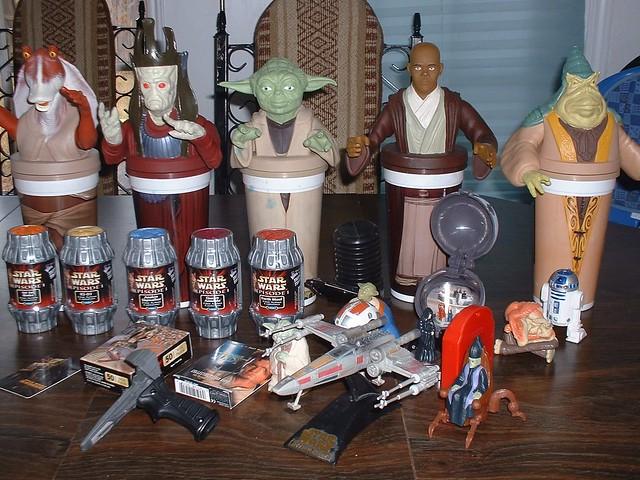 Pizza Hut Toys : Star wars pizza hut toys a photo on flickriver