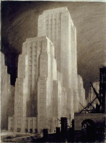 by Hugh Ferriss