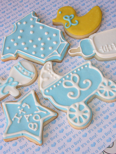 baby shower cookie favors flickr photo sharing