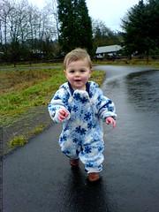 running around the track at luscher farm   DSC00390
