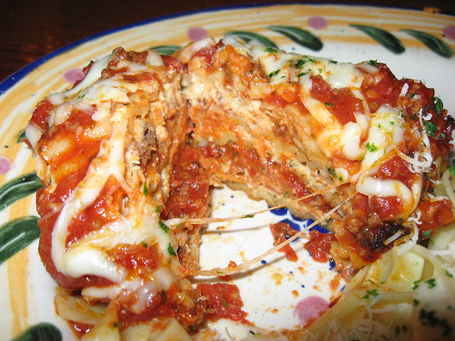 Olive Garden Lasagna Classico Sliced Flickr Photo Sharing