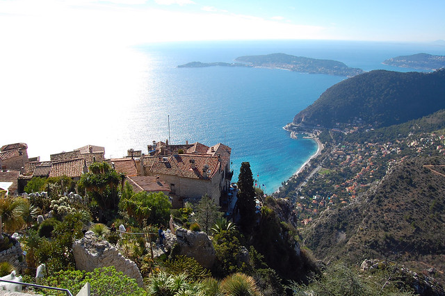 Delicious itinerary from saint tropez to monaco second for Cafe du jardin eze
