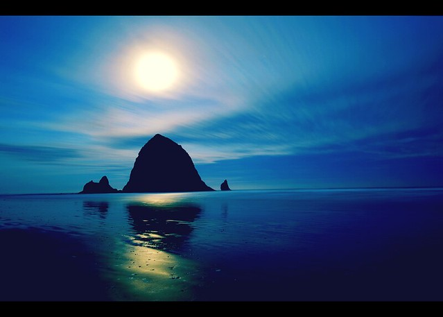 Cannon Beach @6AM in February