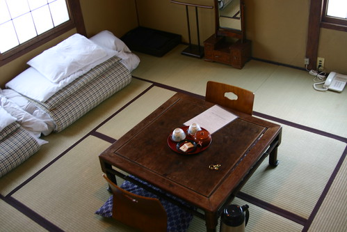 Our room (lucky #13) at Marumo Ryokan