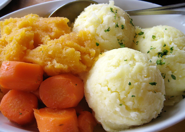 Veg and Mash at the Biddy Early Brewery near the Cliffs of Moher.
