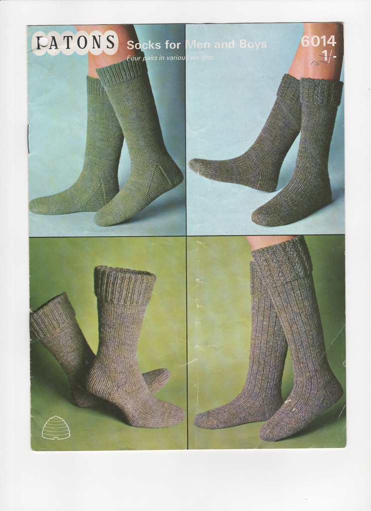Vintage Socks Pdfs Of The Whole Pattern Book Available Fre Flickr