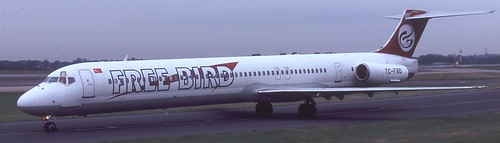 Freebird MD-82 at Manchester Airport
