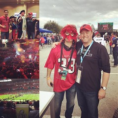 Highlights from Ed's Super Bowl adventures #riseup #risefilter #falcons #tbt #superbowl