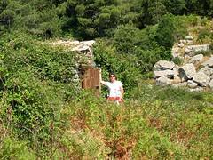 L'abri de Barba Porca : en août 2004