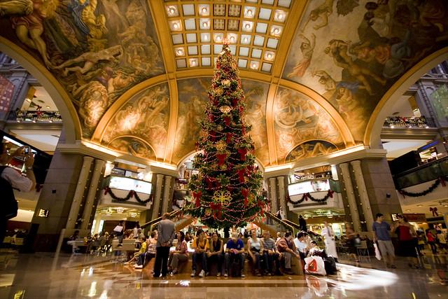 Weihnachtsdeko Galerias Pacifico ...