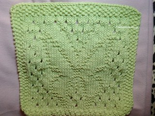 Free Knitting Pattern Butterfly Dishcloth : BUTTERFLY DISHCLOTH PATTERN   Patterns Gallery